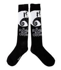 3de3a7819e3 Knee High Jack Skellington NBC Nightmare Before Christmas Socks Sally Cliff