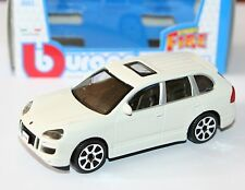 Burago - PORSCHE CAYENNE TURBO (White) - 'Street Fire' Model 1:43
