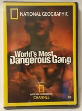 National Geographic World's Most Dangerous Gang (DVD, 2007) New Sealed