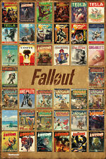 """FALLOUT 4 - GAMING POSTER / PRINT (MAGAZINE COVER COMPILATION) (SIZE: 24 x 36"""")"""