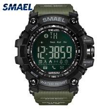 SMAEL New Fashion Smart sports Men Watches  Bluetooth Waterproof Women Watches