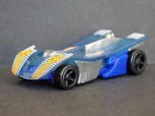 Jouet kinder Hot Wheels voiture bleue / grise TR126 France 2012 +BPZ