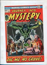 JOURNEY INTO MYSTERY #1 (7.5) ROBERT E. HOWARD!