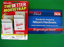 2 Intruder The Better Mouse Trap Easy Press Push Down Set Spring Plastic 16112