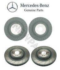Mercedes W166 ML350 2012-2013 Front & Rear Brake Disc Rotors KIT Genuine