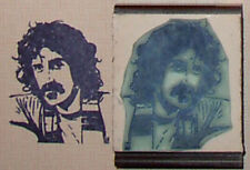 Frank Zappa rubber stamp by Amazing Arts