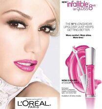 L'Oréal Paris Infaillible Legloss 8Hr Lèvre Brillant, Vous Choisissez