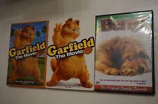 LOT OF 2 Benji (DVD, 2004) Peter Breck, Benji   from Joe Camp + GARFIELD MOVIE