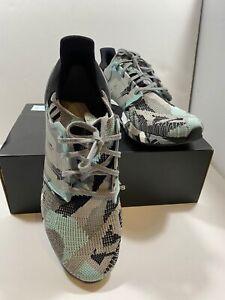 Adidas Ultraboost 20 Men's Black Grey Camo Geometric Size 12 With Box