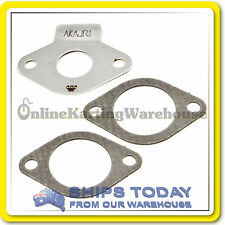GO KART RESTRICTOR PLATE AKA ROTAX JUNIOR MAX AND GASKETS