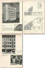 1952 Block Of Offices And Flats Fribourg Architecture