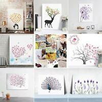 Canvas Wedding Tree Fingerprint Signature Guest Book DIY Party Baby Shower Beamy