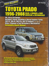 1996-2008 Toyota 4-Runner Hilux Prado Surf Ellery Haynes Repair Shop Manual 0032