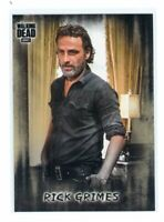 2018 The Walking Dead Hunters and Hunted #1 Rick Grimes SP Photo Variation