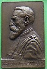 MEDAILLE HOMMAGE AU PROFESSEUR PIERRE SEBILEAU 1926 PAR F. DE HERAIN