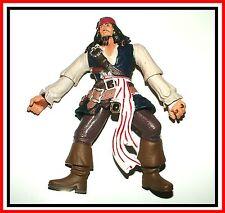 "2006 Disney / Zizzle _ Pirates Of The Carribean _ Captain Jack Sparrow 7"" Action"