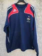 Sweat training EQUIPE DE FRANCE 2008 ADIDAS FFF CLIMA 365 vintage shirt 192 XXL
