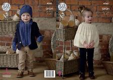 Stylecraft Tejer patrón 8395 Niñas Sombrero Capucha Guantes Bufanda Eskimo 2-12 años