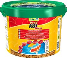 Tetra Pond Koi Sticks 1.5kg 1500g Pond Food Goldfish Orfe TetraPond Bucket