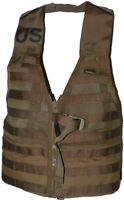 USMC MOLLE Tactical Fighting Load Carrier Tactical Vest Coyote Brown Military