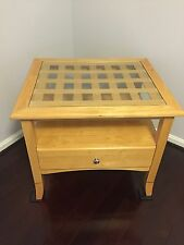 Solid Wood End Table 24D X 28L X 24H With Drawer Local Pick Up Only Maryland