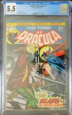 Tomb of Dracula #10 1973 MARVEL 1st Appearance of Blade CGC 5.5