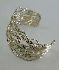 RARE Silver Bracelet Multi Wire , Sterling.