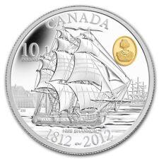 CANADA 10 Dollar 2012 Silver PF HMS 'Shannon' The Bicentennial of the War - 1812