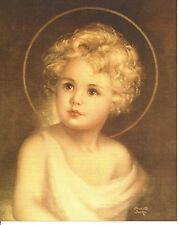 Catholic Print Picture Christ Child Jesus by Charlotte Becker 8x10""