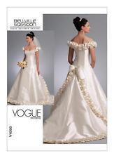 Vogue Sewing Pattern 1095 BELVILLE SASSOON  WEDDING DRESS Misses 12-16 NEW