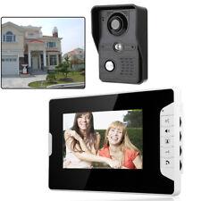 """7"""" LCD Video Gegensprechanlage Türsprechanlage Klingel Sprechanlage IR Monitor !"""