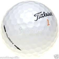24 NEAR MINT Titleist Velocity AAAA Used Golf Balls - FREE SHIPPING
