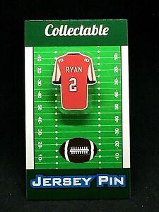 Atlanta Falcons Matt Ryan jersey lapel pin-Classic team Collectable
