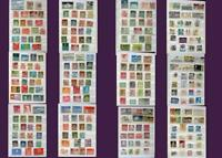 Great Stamp Collection From Switzerland Luxembourg & United States. Free Postage