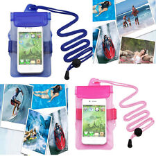 2Colour Waterproof Under Water Pouch Bag Case Cover For iPhone Samsung PDA AU