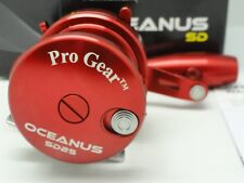 NEW 2018 Oceanus SD25 Pro Gear SD 25 Best Star Drag reel Red FREE JAWS COVER RH