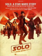 Solo A Star Wars Story Piano Solo Music from the Soundtrack Sheet Music Book Han