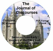 Journal of Discourses Complete 26 VOLS-Mormon-CD eBook PDF-Kindle-iPhone Comptbl