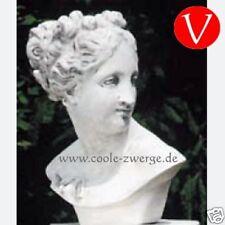 Büste Paula von Canova wetterfest Kunststoff Statue NEU Steinoptik Deutsche Prod