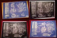 Harley Davidson Memorabilia VTG  Blueprints Sign Poster Motorcycle Buy1orMany