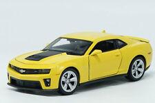 Welly 1:24 Chevrolet Camaro ZL1 Diecast Model Racing Car Bumblebee New in Box
