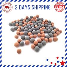 New listing Tourmaline Balls For Freshwater Aquarium Tank Shrimp Mineral Beads 100 Pieces