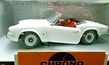 Chrono 1/18 Scale H1040 1970 Triumph Spitfire Open Convertible White BOXED. XMAS