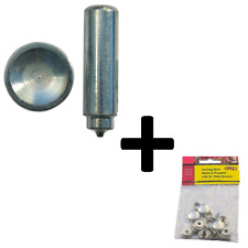 Press Stud Closing Tool & 5 Awning Skirt Studs And Poppers With Steel Screws KIT