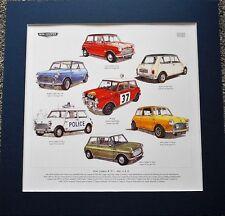 Mini Cooper & S MK III obras de arte impresionante impresión 1,II &