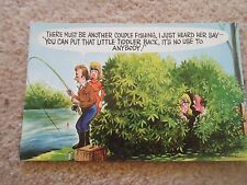 G136  BAMFORTH COMIC SERIES NO 1088 River Fishing Saucy Tiddler Humour