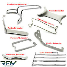 Dental Surgical Retractors Cheek & Lip Orthodontic Mouth Opener Oral Surgery CE