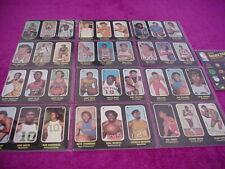 1971-72 Topps Trios Starter Set 13/26 Basketball Cards  (Ex-Mt)