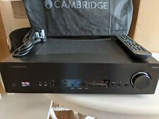 CAMBRIDGE AUDIO CXA60 - BOXED - EXCELLENT CONDITION. BLACK. NR.