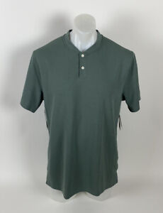 Nike Tiger Woods Collection AeroReact Golf Polo L GREEN NEW
